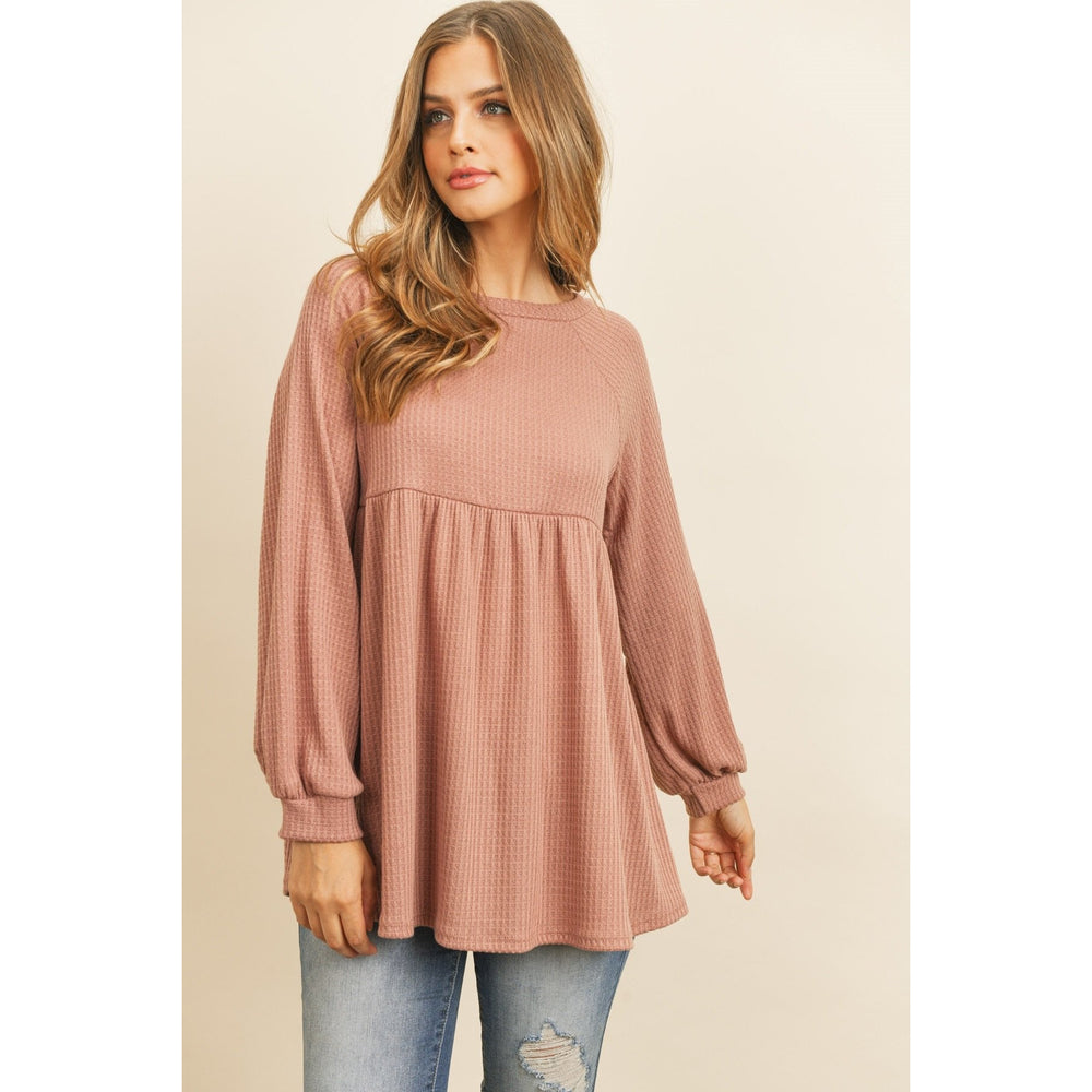 The Good Days Top, Mauve