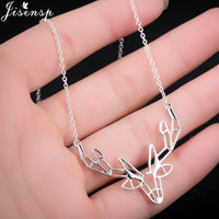 Elegant Elk Necklace