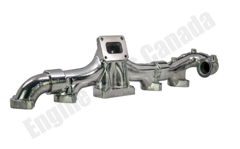 88207 Full Tilt Cummins ISX CM2250 CM2350 Ceramic Coated Exhaust Manifold (8448)