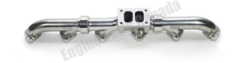 88002 - Full Tilt CAT Ceramic Coated 3406E C15 exhaust manifold (5449)