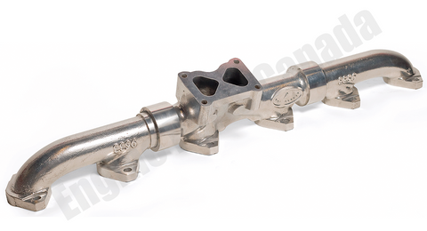 88001 - Full Tilt CAT Ceramic Coated C15 ACERT Exhaust Manifold * 2313462