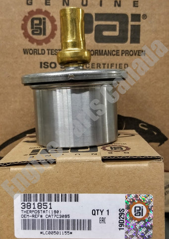 P381851 - CAT 3406E / C15 Coolant Thermostat * 2477133