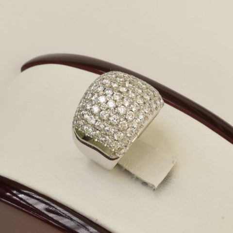 10K White Gold Ring size 5.5 - RW24