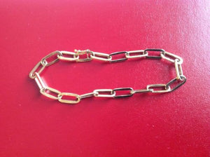 14K Yellow Gold bracelet 7 inches