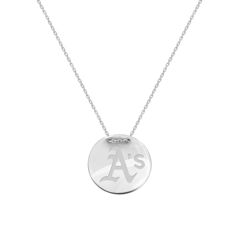 MLB Team Tailored Necklace - Oakland Athletics