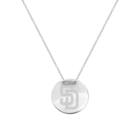 MLB Team Tailored Necklace - San Diego Padres