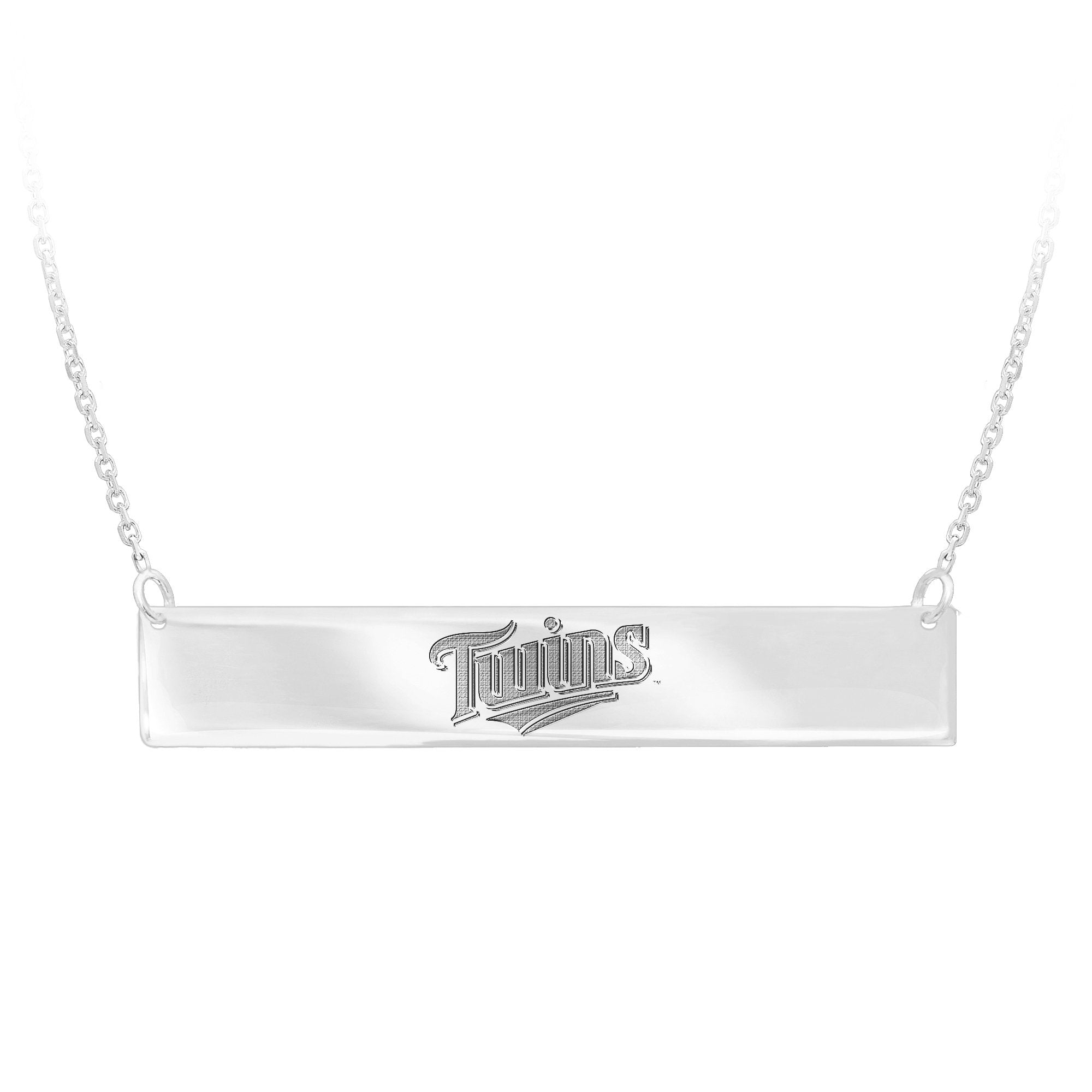 MLB Team Bar Necklace - Minnesota Twins