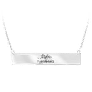 MLB Team Bar Necklace - St. Louis Cardinals