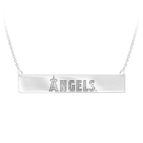 MLB Team Bar Necklace - Los Angeles Angels