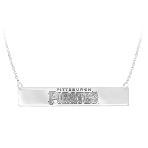 MLB Team Bar Necklace - Pittsburgh Pirates