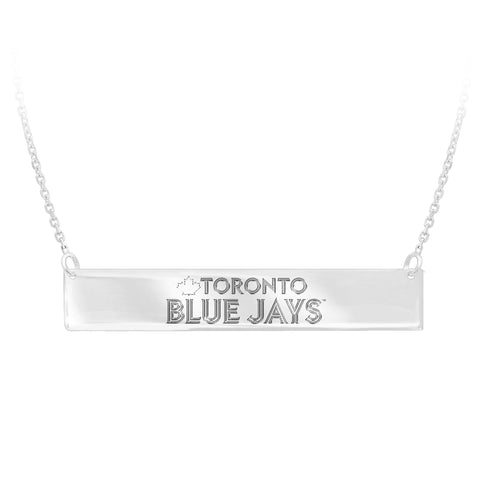 MLB Team Bar Necklace - Toronto Blue Jays