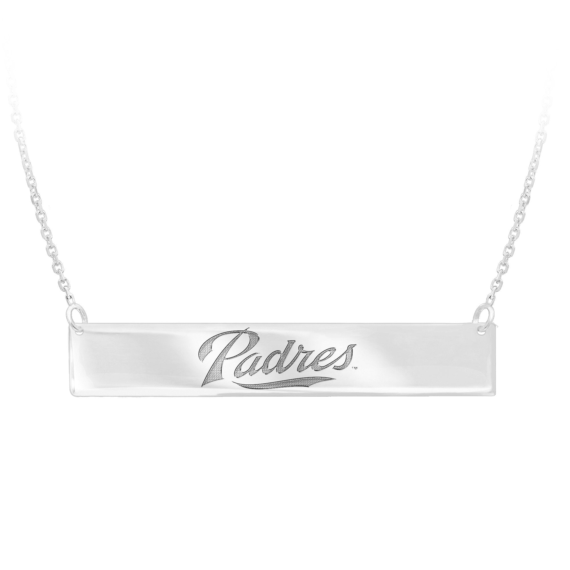 MLB Team Bar Necklace - San Diego Padres