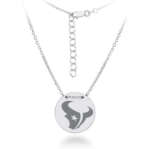NFL Team Tailored Necklace - Houston Texas