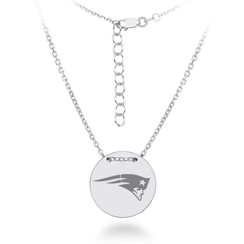 NFL Team Tailored Necklace - New England Patriots