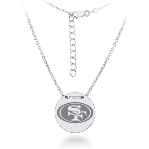 NFL Team Tailored Necklace - San Francisco 49ERS