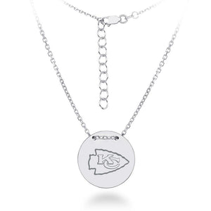 NFL Team Tailored Necklace - Kansas City Chiefs