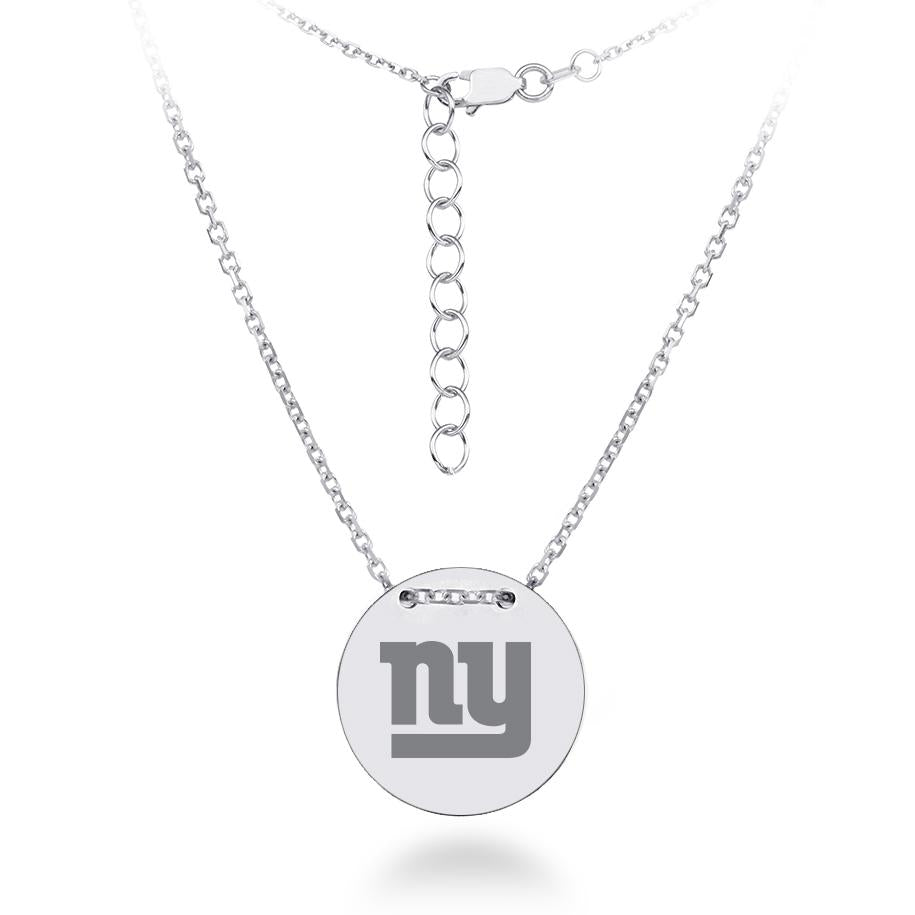 NFL Team Tailored Necklace - New York Giants