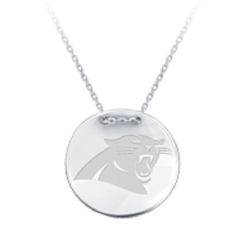 NFL Team Tailored Necklace - Carolina Panthers