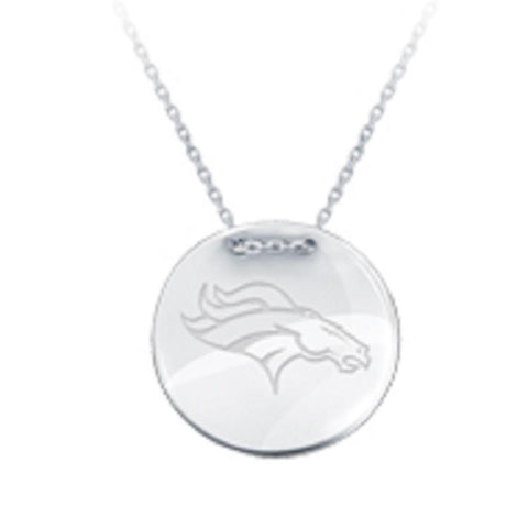NFL Team Tailored Necklace - Denver Broncos