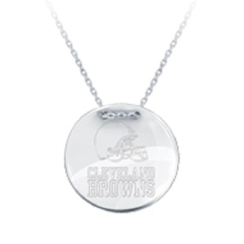 NFL Team Tailored Necklace - Cleveland Browns
