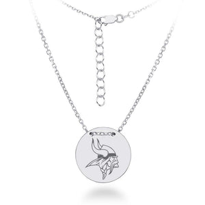NFL Team Tailored Necklace - Minnesota Vikings