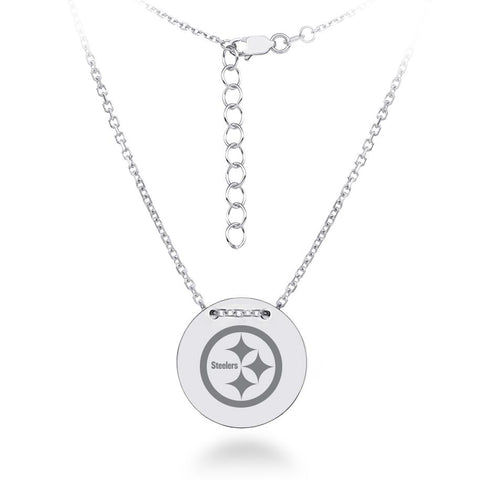 NFL Team Tailored Necklace - Pittsburgh Steelers