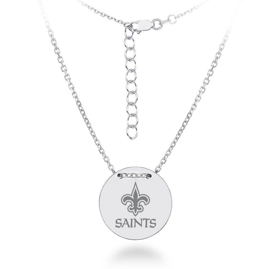 NFL Team Tailored Necklace - New Orleans Saints