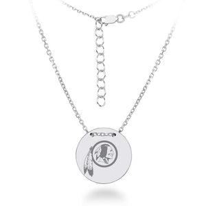 NFL Team Tailored Necklace - Washington RedSkins