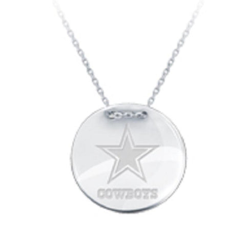 NFL Team Tailored Necklace - Dallas Cowboys