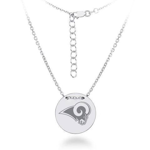 NFL Team Tailored Necklace - Los Angeles Rams