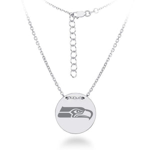 NFL Team Tailored Necklace - Seattle Seahawks