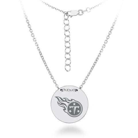 NFL Team Tailored Necklace - Tennessee Titans