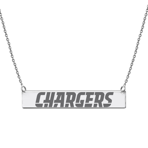 NFL Team Bar Necklace - Los Angeles Chargers