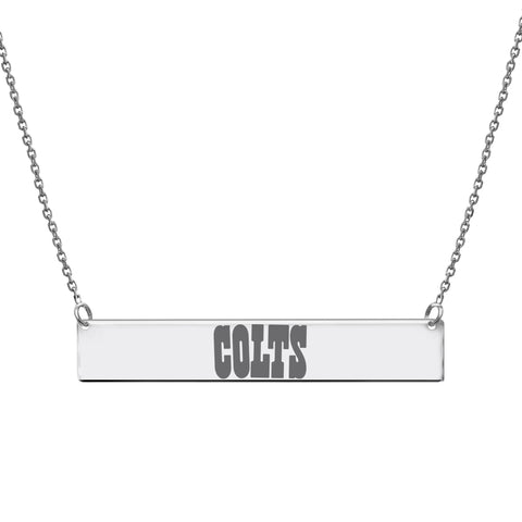 NFL Team Bar Necklace - Indianapolis Colts