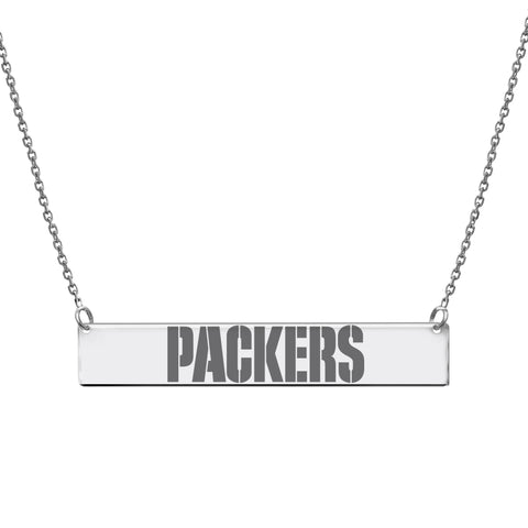 NFL Team Bar Necklace - Green Bay Packers