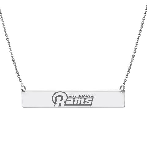 NFL Team Bar Necklace - Los Angeles Rams