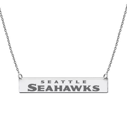 NFL Team Bar Necklace - Seattle Seahawks