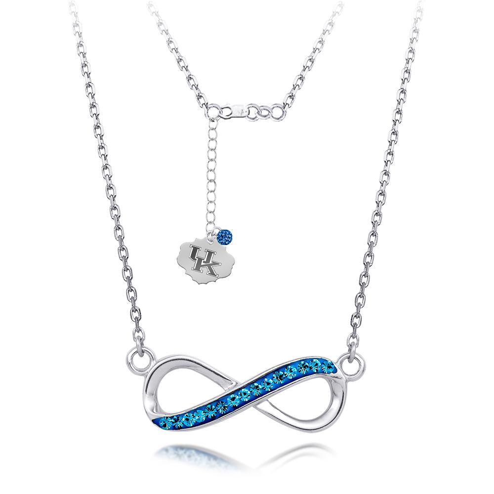 4YR Spirit Infinity Necklace - University of Kentucky