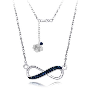 4YR Spirit Infinity Necklace - University of Michigan