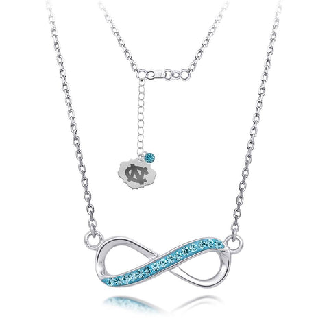 4YR Spirit Infinity Necklace - University of North Carolina