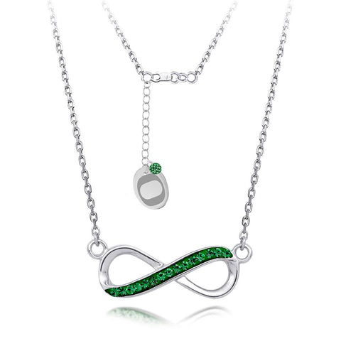 4YR Spirit Infinity Necklace - University of Oregon