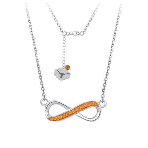 4YR Spirit Infinity Necklace - University of Texas