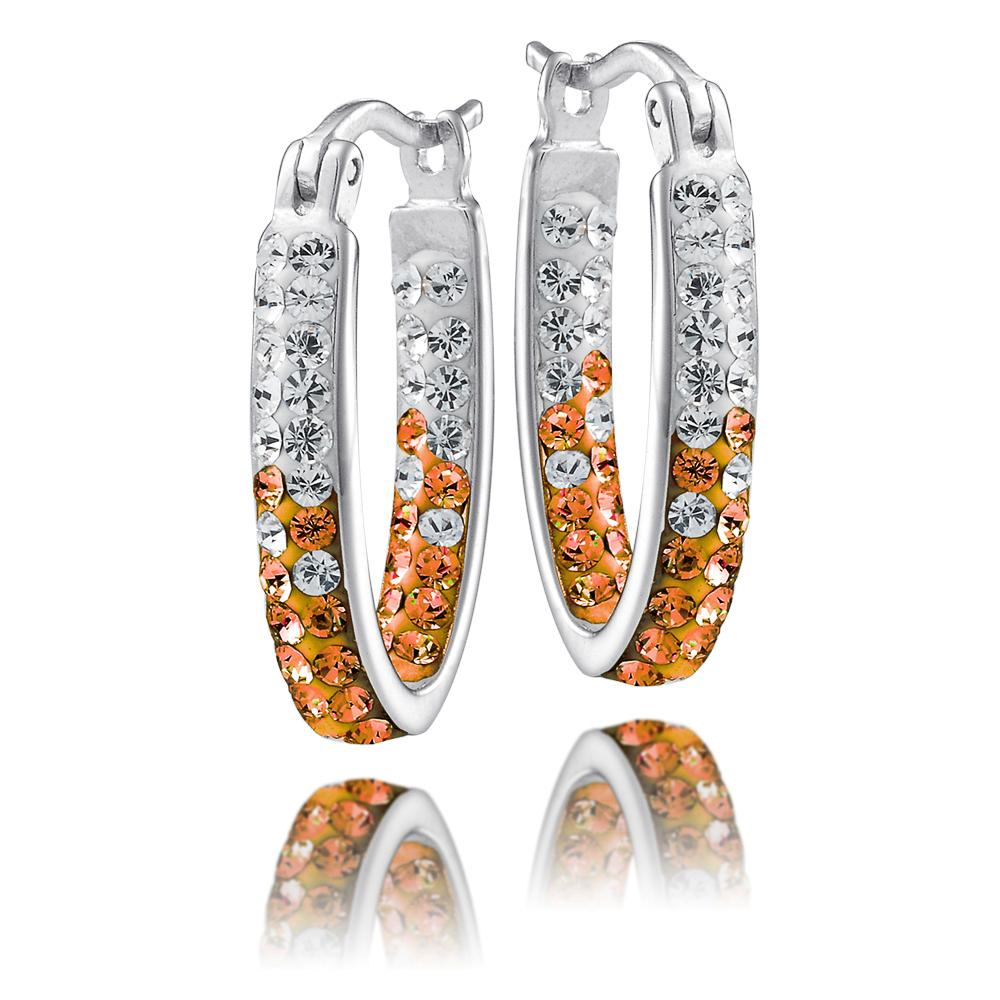 4YR Spirit Hoop Earrings - University of Texas