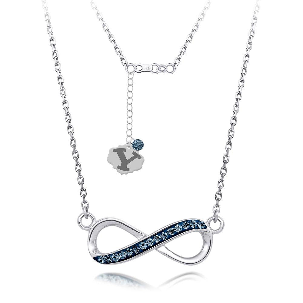 4YR Spirit Infinity Necklace - Brigham University