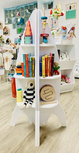 Rocket Ship Bookcase - Make Me Yours Toy Studio