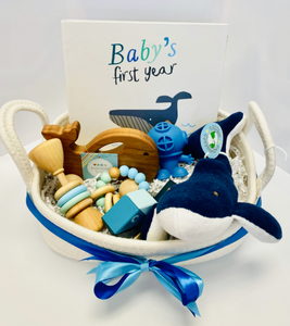 Whale Gift Basket