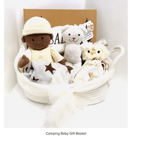 Camping Baby Gift Basket - Make Me Yours Toy Studio