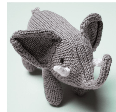 Elephant Rattle - Make Me Yours Toy Studio