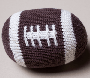 Organic Football Rattle - Make Me Yours Toy Studio