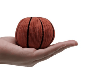 Organic Basketball Rattle - Make Me Yours Toy Studio